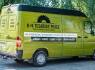 Polep auta - Tesaři K+K
