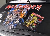 Zadní okno - Iron Maiden
