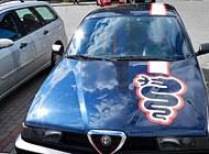 Polep auta - Alfa Romeo