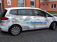 Polep auta - Chcikalendar