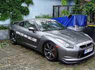 Polep auta - Nissan GT-R