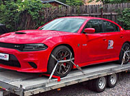 Polep auta - Dodge Charger