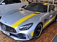Polep auta - Mercedes AMG GT