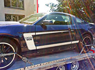 Polep auta - Mustang