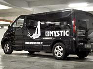 Polep auta - Mystic