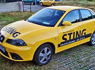 Polep auta - RK Sting