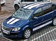 Polep auta - VW Touran
