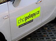 Ukázka polepu - Chcipolepy.cz