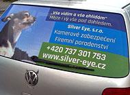 Zadní okno - Silver Eye