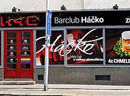 Polep výlohy - Bar Club H46