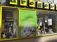 Polep výlohy - Ryor